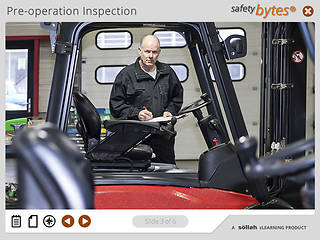 <u>Safety</u>Bytes® Forklift <u>Safety</u>: Changing A Battery