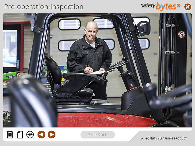 SafetyBytes® Forklift Safety: Changing A Battery
