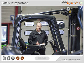 <u>Safety</u>Bytes® Forklift <u>Safety</u>: Lift Component Inspection