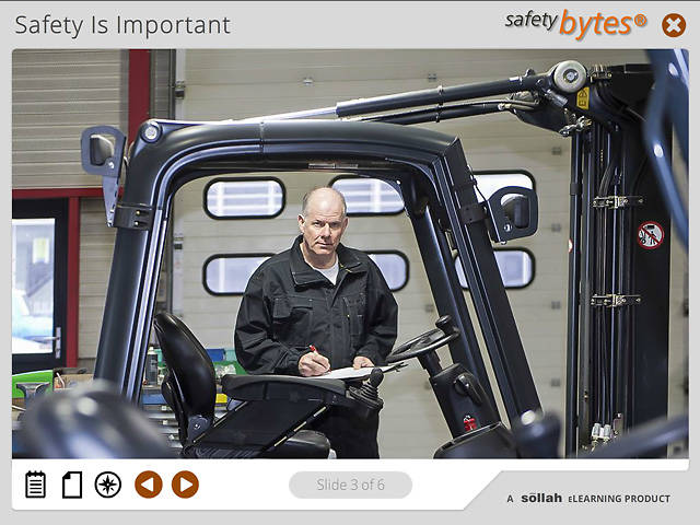 SafetyBytes® Forklift Safety: Lift Component Inspection