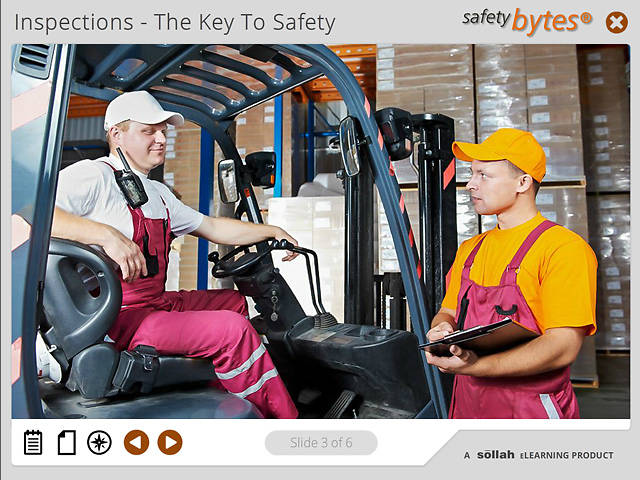 SafetyBytes® Forklift Safety: Operational Inspection For Internal Combustion Engines