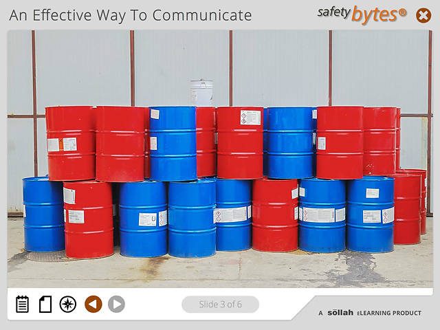 SafetyBytes® - Hazardous Chemical Container Labeling