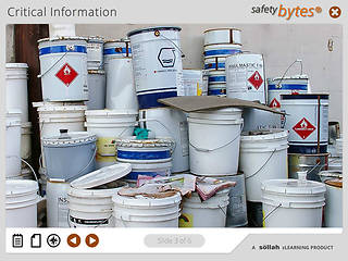 SafetyBytes® Hazardous Product Labeling Information