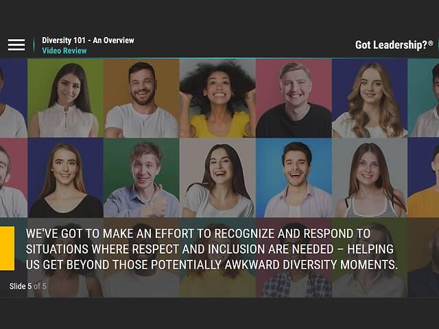Diversity 101 - An Overview (Diversity Basics)