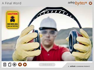 <u>Safety</u>Bytes® Hearing Protection: Controlling Noise Levels