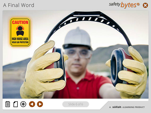 SafetyBytes® Hearing Protection: Controlling Noise Levels
