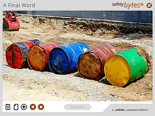 SafetyBytes® Types of Hazardous Waste Accumulation Areas