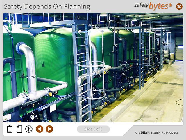 SafetyBytes® Chlorine Leak: Planning And Investigation