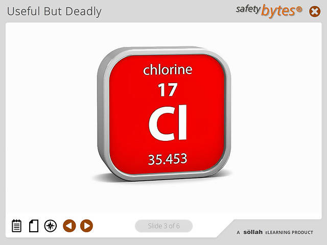 SafetyBytes® Chemical Properties Of Chlorine