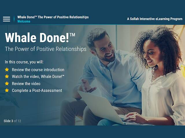 Whale Done!™ The Power of Positive Relationships