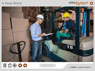 <u>Safety</u>Bytes® Forklift <u>Safety</u>: Physical Inspection For Battery-Powered Engines