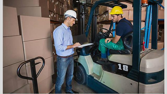 <u>Safety</u>Bytes® Forklift <u>Safety</u>: Physical Inspection For Battery-Powered Engines