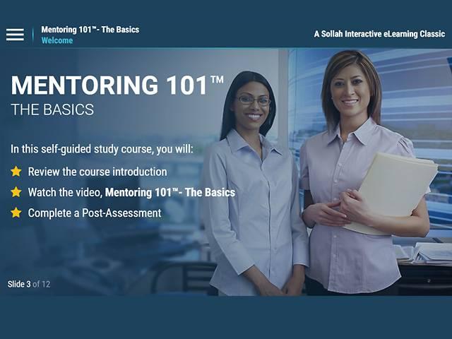 Mentoring 101™ – The Basics