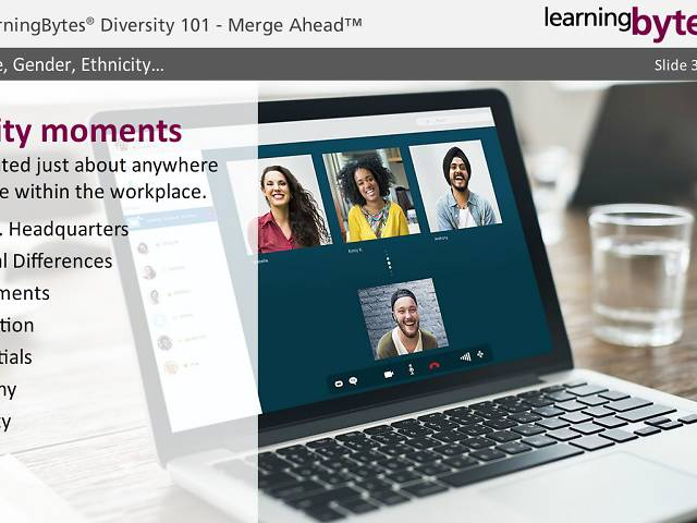 LearningBytes® Diversity 101 - Merge Ahead™