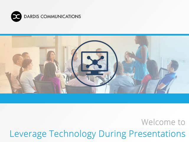 Leverage Technology During Presentations