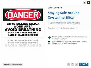 Staying Safe Around Crystalline Silica™