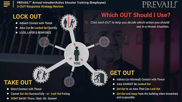 PREVAIL!® <u>Armed Intruder</u>/Active Shooter Training (Employee - Standard)