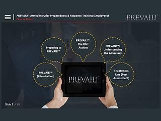 PREVAIL!® Armed Intruder Preparedness & Response Training (Employee - Premium)