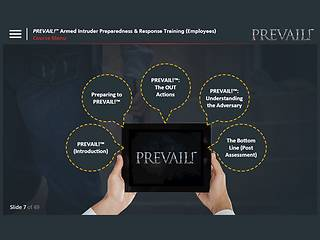 PREVAIL!® <u>Armed Intruder</u> Preparedness & Response Training (Employee - Premium)