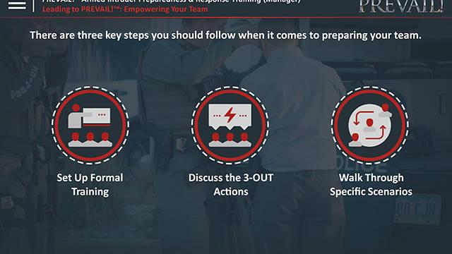PREVAIL!® <u>Armed Intruder</u> Preparedness & Response Training (Manager - Premium)