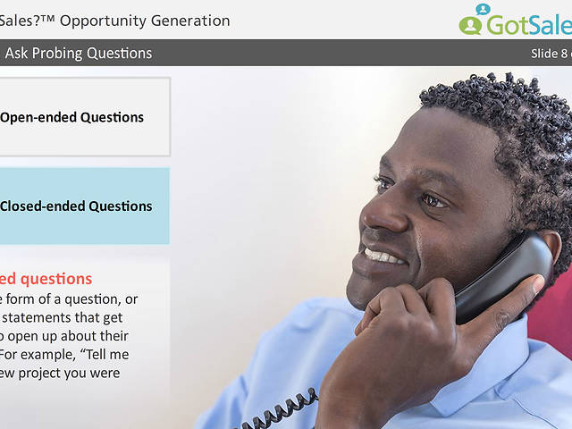 GotSales?™ Opportunity Generation