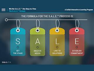 Sales Series: Win the S.A.L.E.™ - One Step at a Time