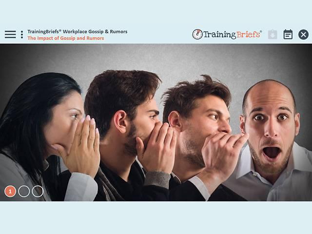 TrainingBriefs® Workplace Gossip & Rumors