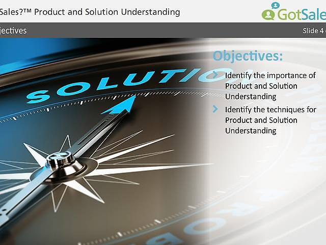 GotSales™ Product and Solution Understanding