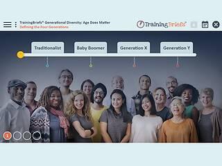 TrainingBriefs® Generational <u>Diversity</u>: Age Does Matter