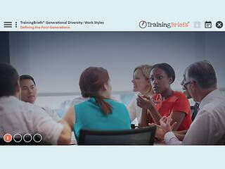 TrainingBriefs® Generational <u>Diversity</u>: Work Styles