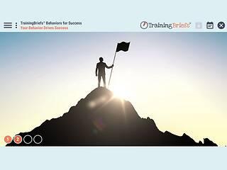 TrainingBriefs® Behaviors for Success