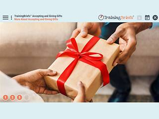 TrainingBriefs® Accepting and Giving Gifts