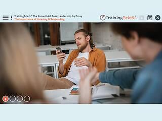 TrainingBriefs® The Know-It-All Boss: <u>Leadership</u> by Proxy