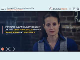 TrainingBriefs® Preventing Workplace Bullying