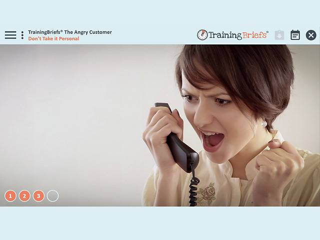TrainingBriefs™ The Angry Customer