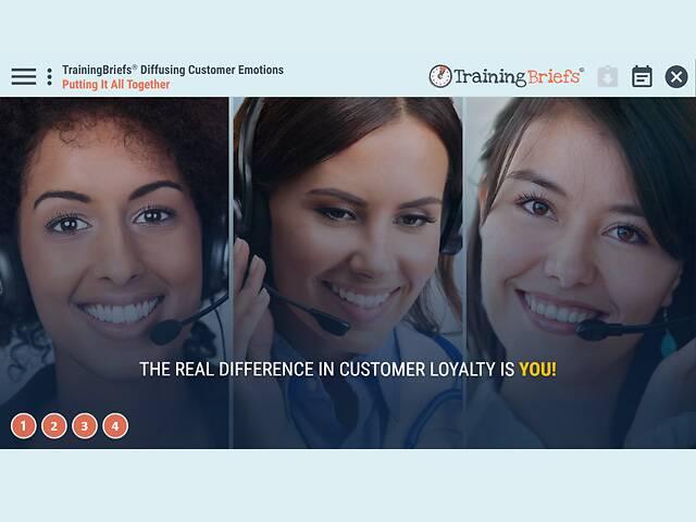 TrainingBriefs® Diffusing Customer Emotions
