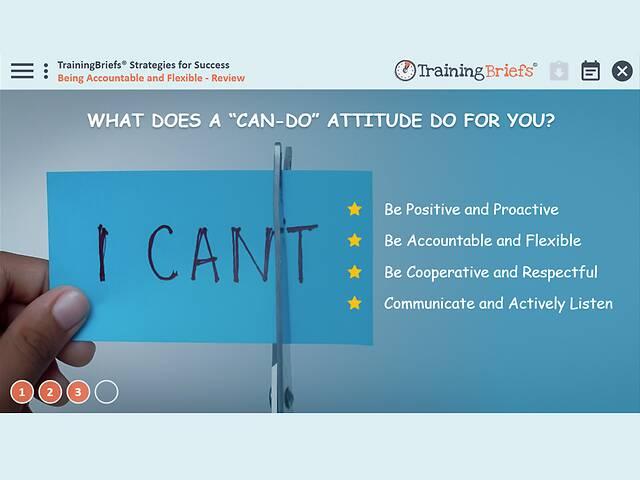 TrainingBriefs™ Strategies for Success