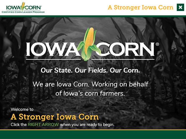 A Stronger Iowa Corn
