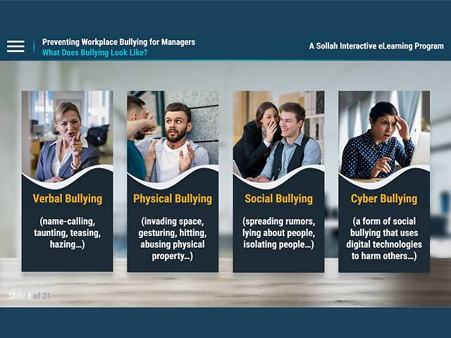 Prevent Workplace Bullying: How to Recognize and Respond to Bullies at Work - for Managers