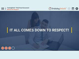 TrainingBriefs® Third Party Harassment