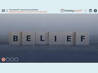 TrainingBriefs® Imposing Personal Beliefs