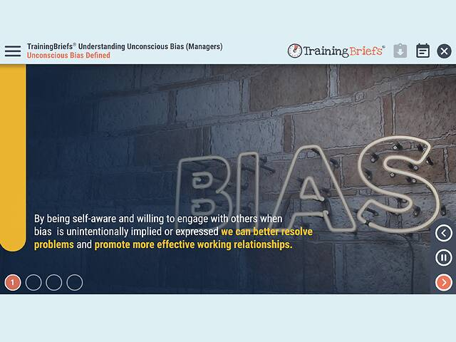 TrainingBriefs® - Understanding Unconscious Bias (Managers)