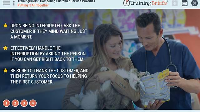TrainingBriefs® Competing Customer Service Priorities