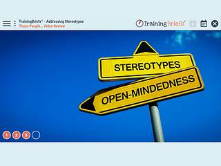 TrainingBriefs® Addressing Stereotypes