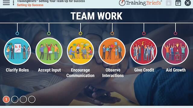 TrainingBriefs® Setting Your Team Up for Success