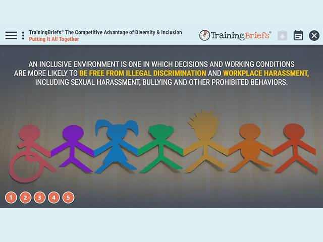 TrainingBriefs™ The Competitive Advantage of Diversity & Inclusion