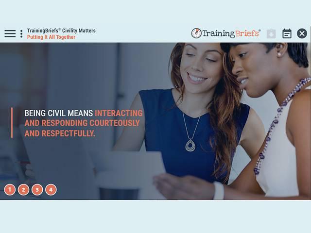 TrainingBriefs® Civility Matters