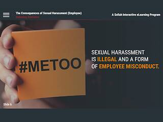 The Consequences of Sexual <u>Harassment</u>™ (CA Employees)