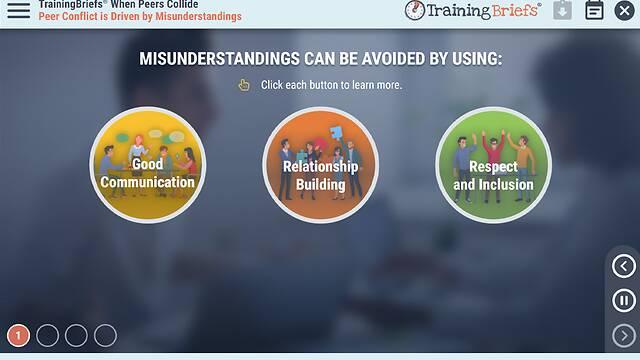 TrainingBriefs® When Peers Collide