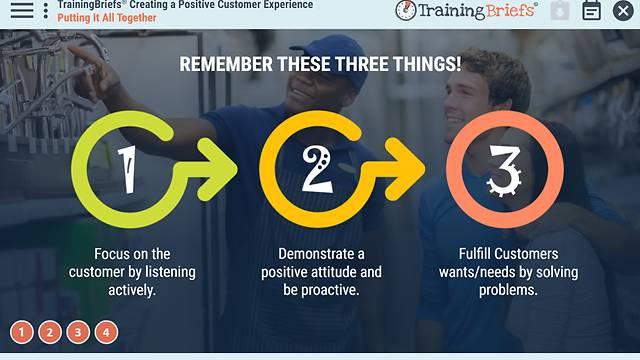 TrainingBriefs® Creating a Positive Customer Experience